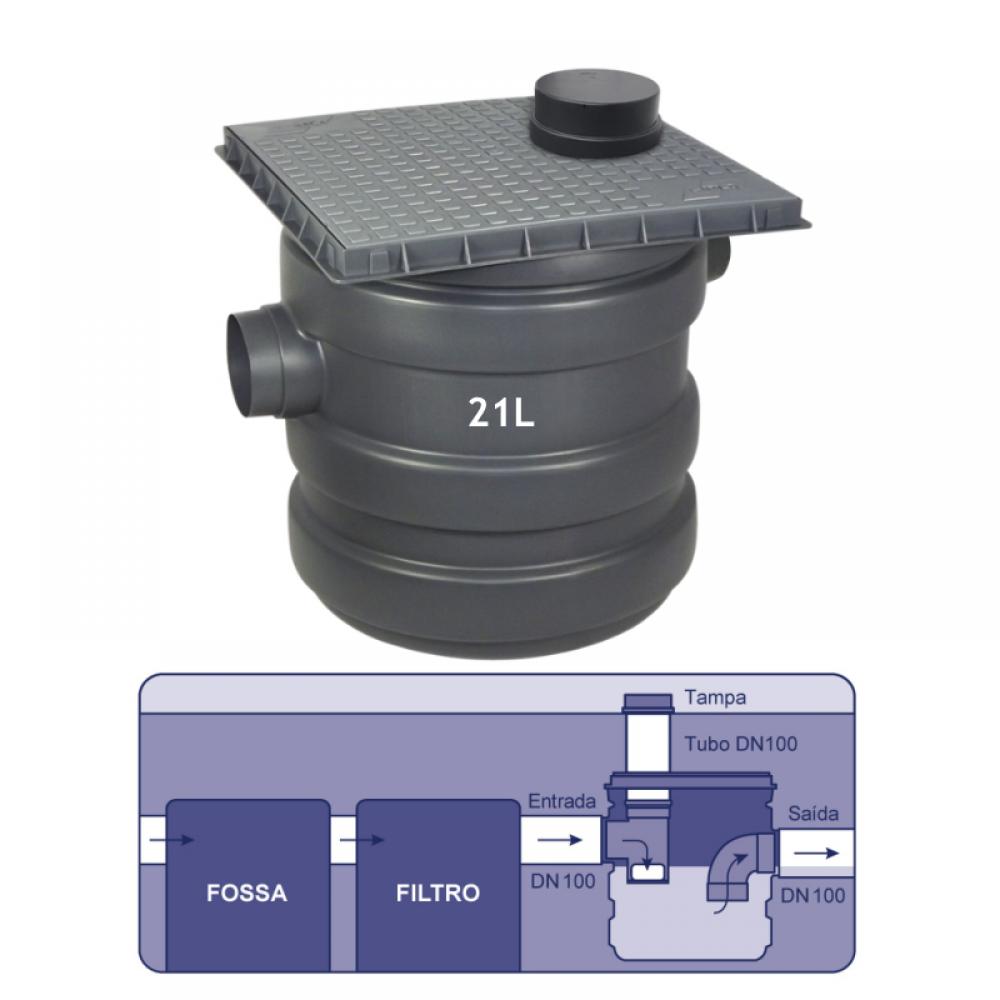 imagem Caixa de cloração 21L