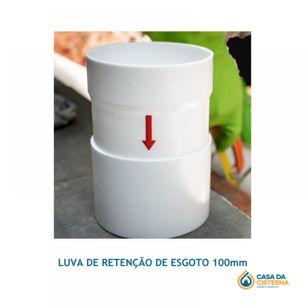 imagem LUVA DE RETENÇÃO DE ESGOTO 100 mm