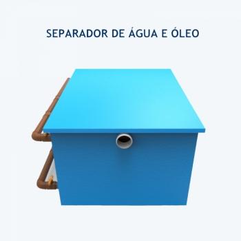 imagem Caixa Separadora de Água e Óleo