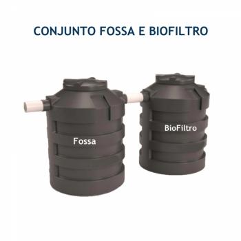 imagem Conjunto  Fossa e BioFiltro  325L