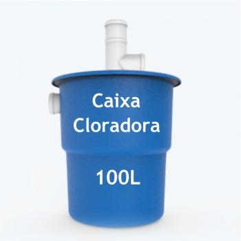 imagem Caixa cloradora 100L