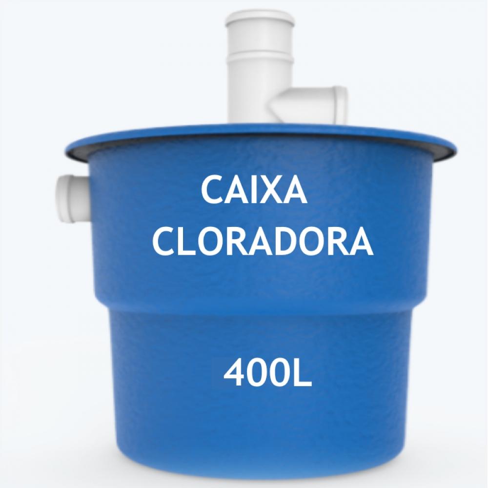imagem Caixa cloradora 400L